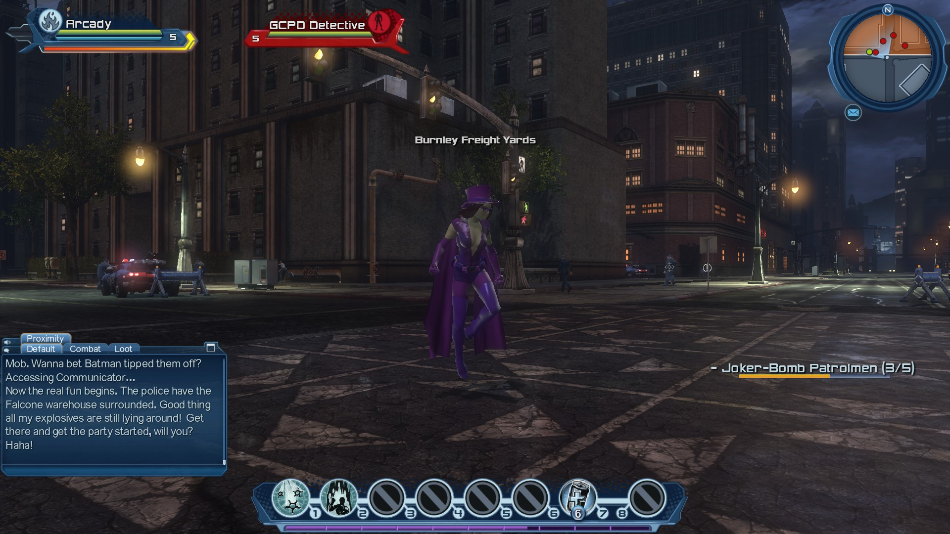 DC Universe Online - A Very Quick Look - May Contain Spoilers