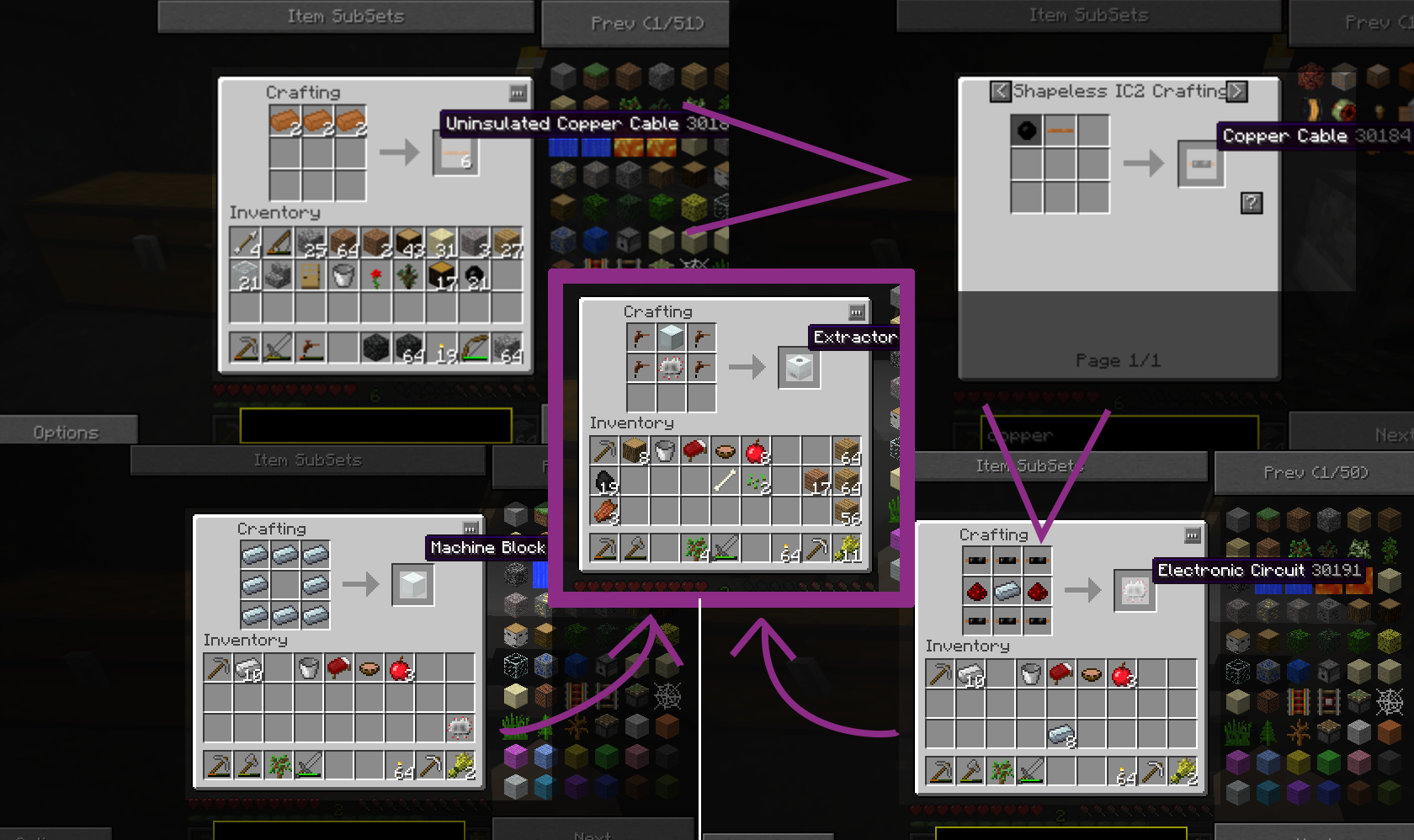 Copper Cable Tekkit : Back to modded minecraft may contain spoilers