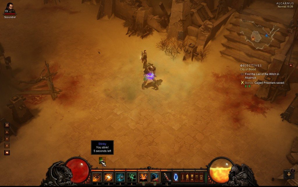 Diablo III - Pox Faulds - You Stink
