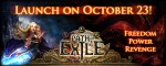 Path of Exile launches on October 23rd