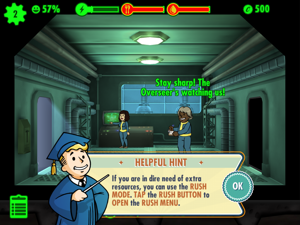 Fallout Shelter - The Overseer Sees All