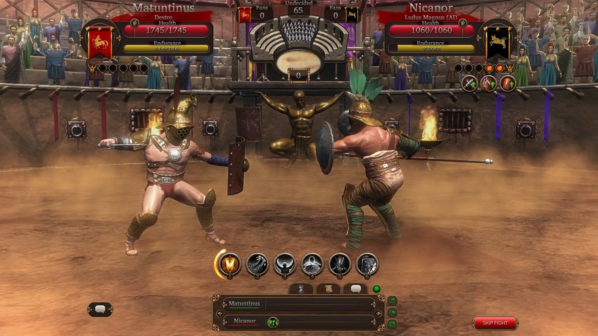 Gladiators Online Death Before Dishonor Due October May