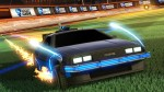 DeLorean Playable in Rocket League